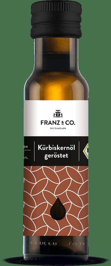 Bio-Kürbiskernöl geröstet