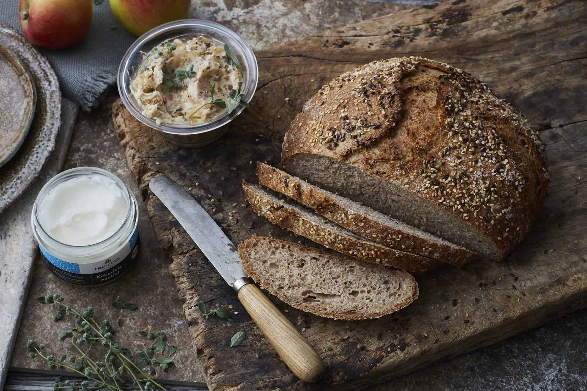 Brot aus Kartoffel-Mehlteig